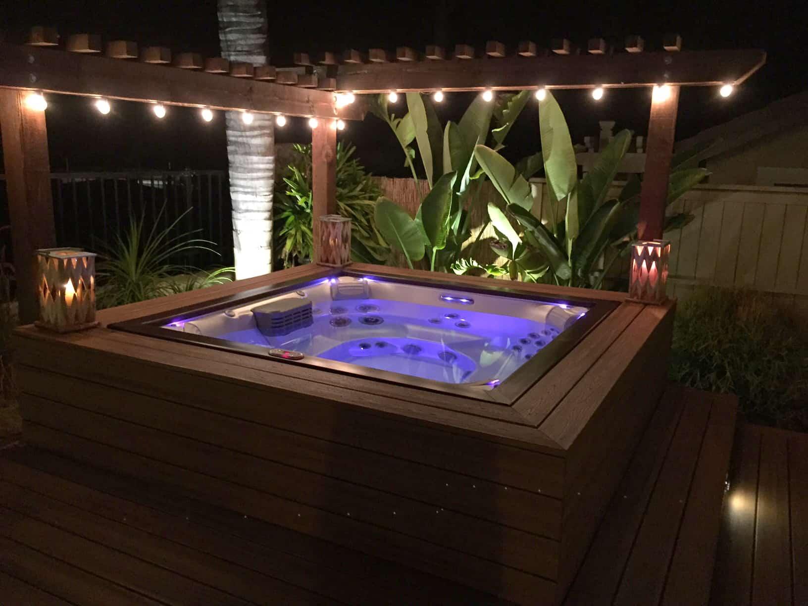 hot tub chromatherapy
